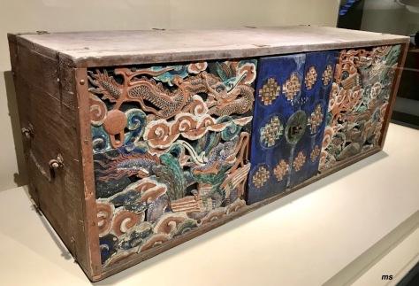 Sutra cabinet, late Joseon period