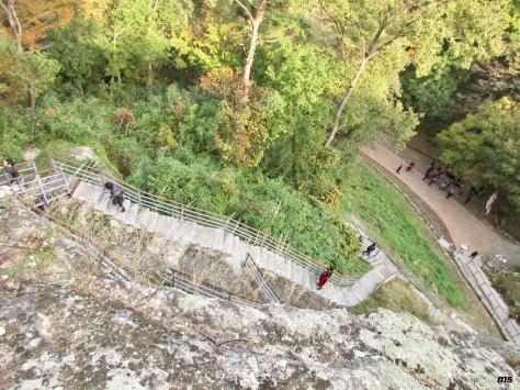 Climb to carved Buddha, Golgulsa Temple, Gyeongju
