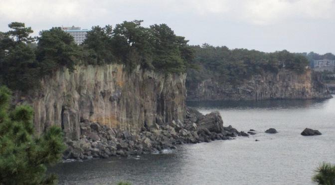 Jeju's Jeongbang Falls