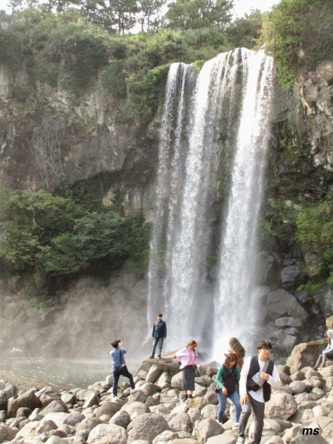 Jeongbang Falls, Seogwipo