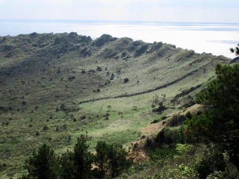 Seongsan Ilchulbong crater