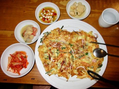 Shrimp pancake