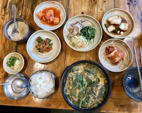 Eel soup with bunchun
