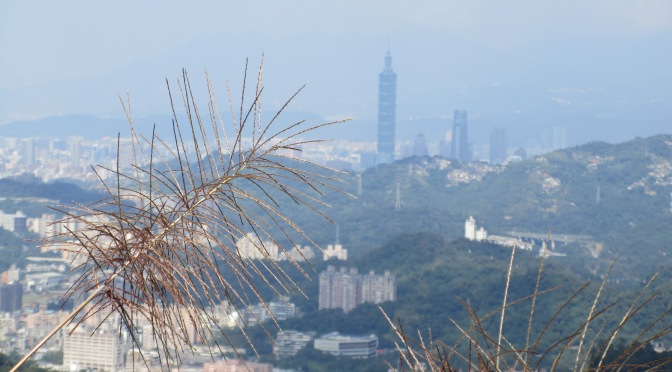 High above Taipei City