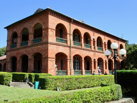 Former British Consulate residence within the fort