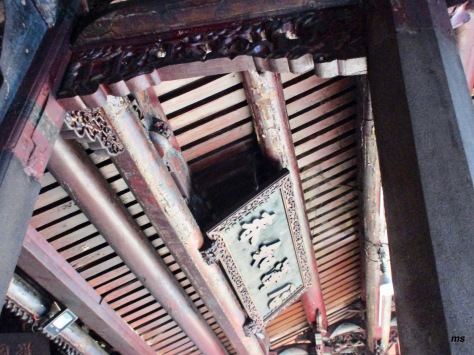 Ceiling of Fuyou Temple, Tamsui