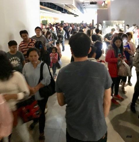 Taipei 101 crowd