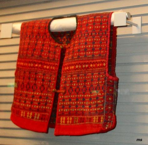 Woven vest, Shung Ye Museum of Formosan Aborigines, Shilin
