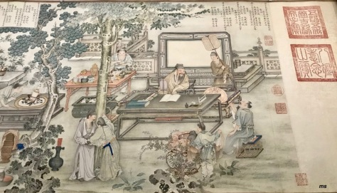 Literary Gathering by a Song artist Yao Wenhan (1713-?)