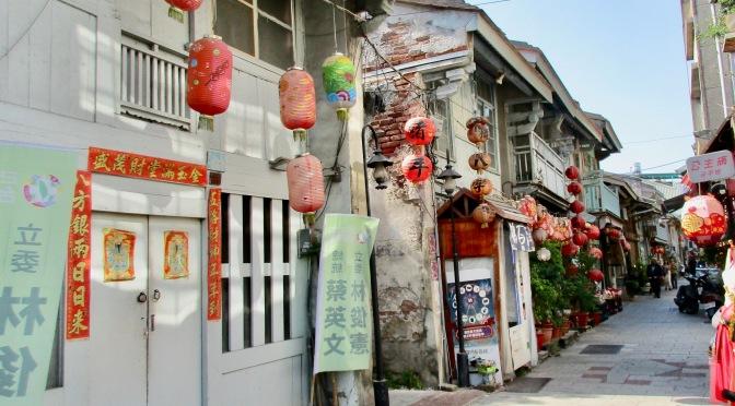 Tainan city's back streets