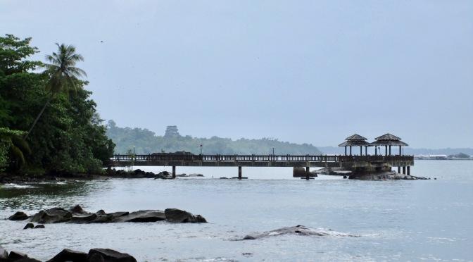 pulau ubin island's kampongs