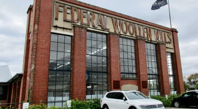geelong's Federal woollen mills