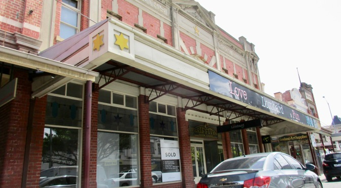 why were geelong's old buildings preserved?