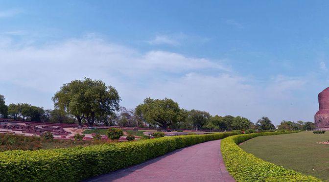 Sarnath – a quiet corner of India