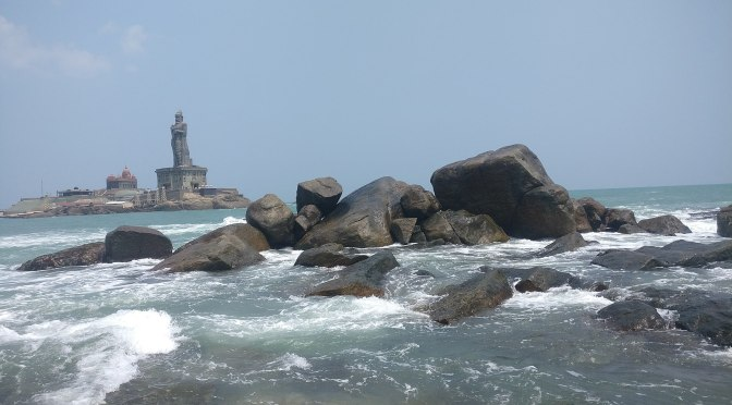 At the very tip of India